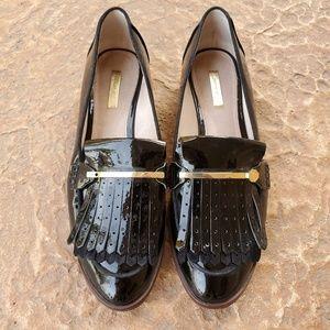 Louise et Cie Dahlian Kiltie Loafers Flats 9.5